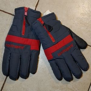 Hotfingers Thinsulate + Leather Mens Gloves